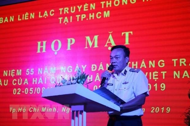 Kỷ niệm 55 năm Ngày truyền thống đánh thắng trận đầu của bộ đội hải quân - ảnh 1