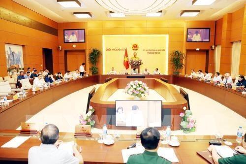 Ngày 12/8 khai mạc Phiên họp thứ 36 của Ủy ban Thường vụ Quốc hội khóa XIV - ảnh 1