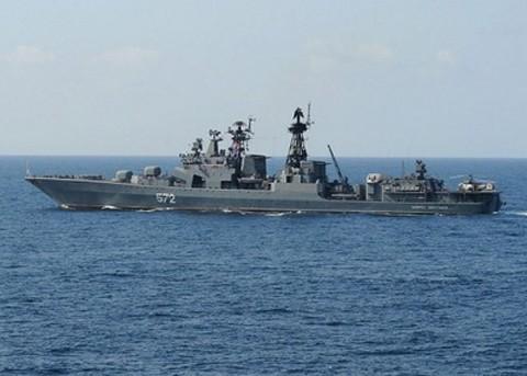 "Rusia dan Tiongkok melakukan latihan perang  bersama: ""Joint Sea-2013"" - ảnh 1"
