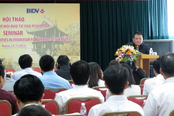 Vietnam mencari kesempatan mendorong investasi ke Myanmar - ảnh 1