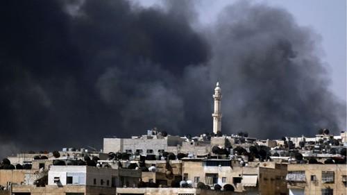 Baku tembak di Suriah menimbulkan banyak pengorbanan - ảnh 1