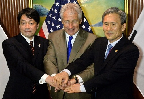 AS, Tiongkok dan Republik Korea mengadakan dialog tentang denuklirisasi semenanjung Korea - ảnh 1