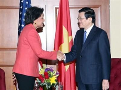 Hubungan Vietnam- AS akan terus berkembang  kuat - ảnh 1