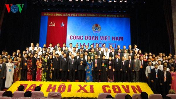 Serikat Buruh Vietnam angkatan ke-11  mendorong kuat perkembangan serikat buruh di tingkat basis - ảnh 1