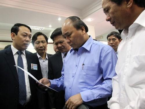 Deputi PM Vietnam, Nguyen Xuan Phuc melakukan kunjungan kerja di kota Hai Phong - ảnh 1