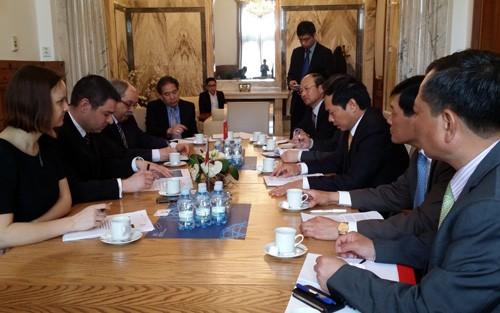 Konsultasi politik Vietnam- Republik Czech - ảnh 1