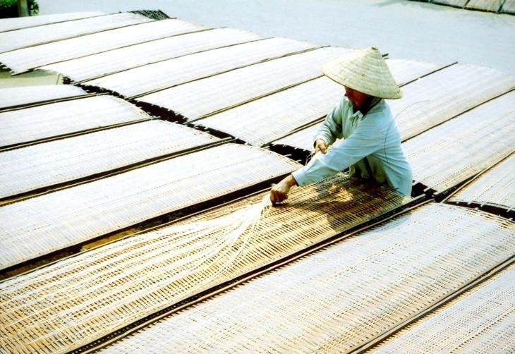 Produksi mihun di Vietnam  - ảnh 1