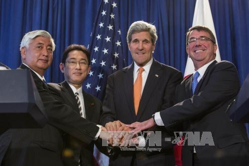 AS- Jepang  mengumumkan pengarahan kerjasama pertahanan baru - ảnh 1