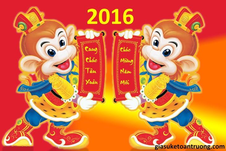 Tahun Baru Binh Than (atau tahun Monyet Api) di Vietnam - ảnh 1