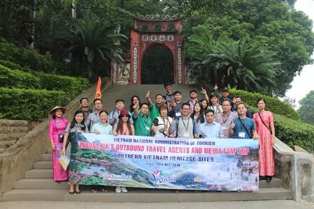 Menyosialisasikan pusaka di Vietnam Utara kepada semua Perusahaan Pariwisata Perjalanan Indonesia - ảnh 1