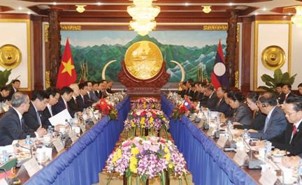 Pernyataan Bersama Vietnam-Laos - ảnh 1
