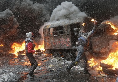 Власти Украины обвинили оппозицию в попытке государственного переворота - ảnh 1