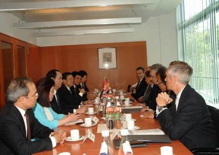 Министр общественной безопасности Вьетнама посетил Германию с рабочим визитом - ảnh 1
