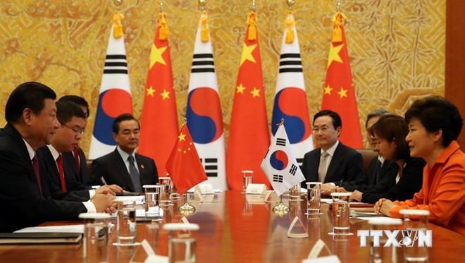 Пекин и Сеул пришли к единому мнению о денуклеаризации корейского полуострова - ảnh 1