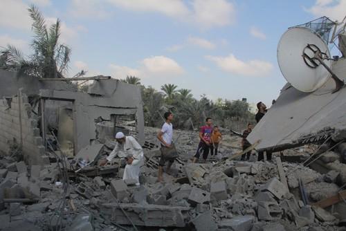 Кабмин Израиля одобрил мобилизацию 40 тыс. резервистов для участия в операции в секторе Газа - ảnh 1