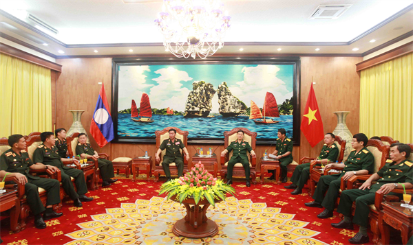 Оборонное сотрудничество - главное направление развития вьетнамо-лаосских отношений - ảnh 1