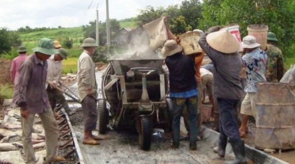 Крестьяне отдают часть своей земли для строительства новой деревни - ảnh 1