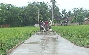 Крестьяне отдают часть своей земли для строительства новой деревни - ảnh 2