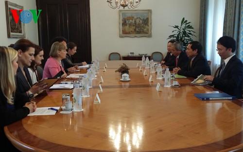 Политические консультации между МИД Вьетнама и МИДами Словении и Хорватии - ảnh 1
