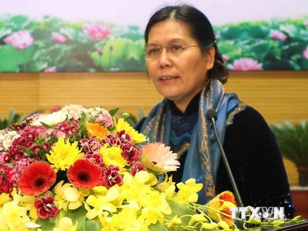 Делегация Союза вьетнамских женщин находилась в Швейцарии с рабочим визитом - ảnh 1