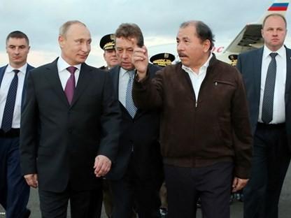 Президент РФ Владимир Путин внезапно совершил визит в Никарагуа - ảnh 1