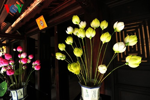 Деревня по изготовлению бумажных цветов в Хюэ - ảnh 3