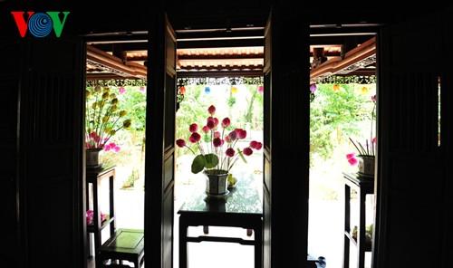 Деревня по изготовлению бумажных цветов в Хюэ - ảnh 5