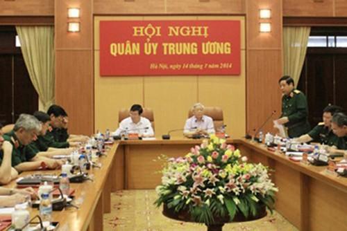 В Ханое прошло заседение Центрального военного комитета Вьетнама - ảnh 1