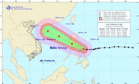 Вьетнам готов к борьбе с тайфуном «Раммасун» - ảnh 1