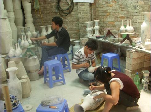 Гончарная деревня Батчанг развивает свои преимущества для строительства новой деревни - ảnh 5