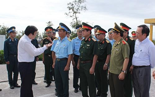 Президент СРВ Чыонг Тан Шанг посетил город Хайфон - ảnh 2