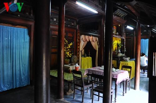 Красота многовековых домов «рыонг» в Хюэ - ảnh 8