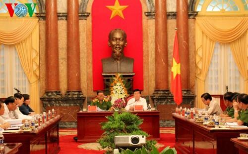 Президент Вьетнама подчеркнул важность независимости в юридической реформе - ảnh 1