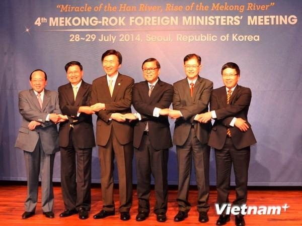 Вьетнам активно ускоряет сотрудничество между странами дельты реки Меконг и Республикой Корея - ảnh 1