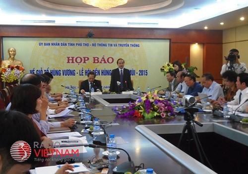 В Ханое прошла пресс-конференция по поводу праздника «Храм королей Хунгов» - ảnh 1