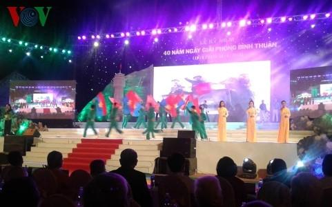Провинция Биньтхуан отметила 40-летие со дня своего освобождения - ảnh 1