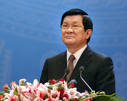 Президент СРВ Чыонг Тан Шанг примет участие в саммите стран Азии и Африки - ảnh 1