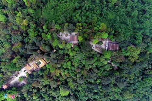 Храмовый комплекс королей Хунгов с высоты птичьего полета - ảnh 1