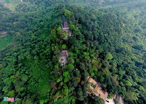 Храмовый комплекс королей Хунгов с высоты птичьего полета - ảnh 2