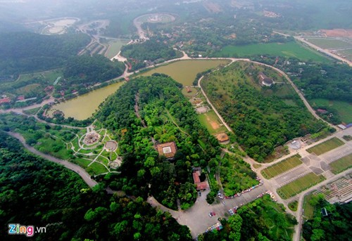 Храмовый комплекс королей Хунгов с высоты птичьего полета - ảnh 7