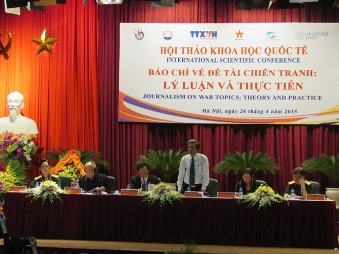 В Ханое прошёл научный семинар «СМИ о войне: теория и практика» - ảnh 1