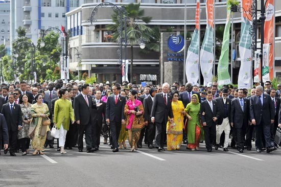Президент СРВ Чыонг Тан Шанг принял участие в праздновании 60-летия Бандунгской конференции - ảnh 1