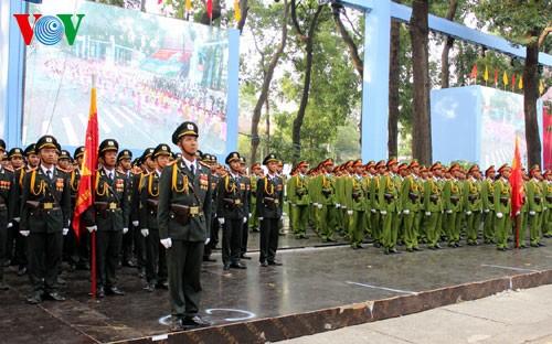 Генеральная репетиция парада в честь Дня Победы - ảnh 1