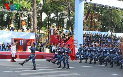 Генеральная репетиция парада в честь Дня Победы - ảnh 12