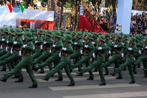 Генеральная репетиция парада в честь Дня Победы - ảnh 15