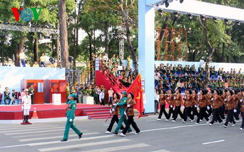 Генеральная репетиция парада в честь Дня Победы - ảnh 17