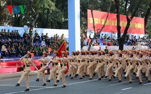 Генеральная репетиция парада в честь Дня Победы - ảnh 18