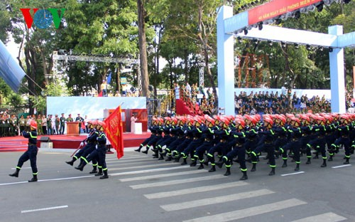 Генеральная репетиция парада в честь Дня Победы - ảnh 19