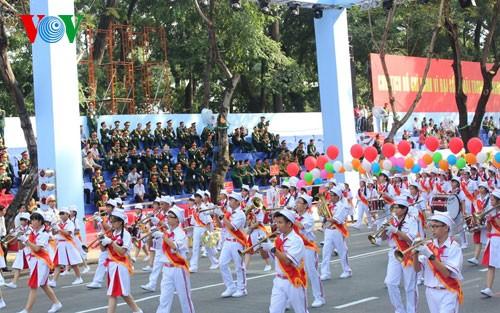 Генеральная репетиция парада в честь Дня Победы - ảnh 21