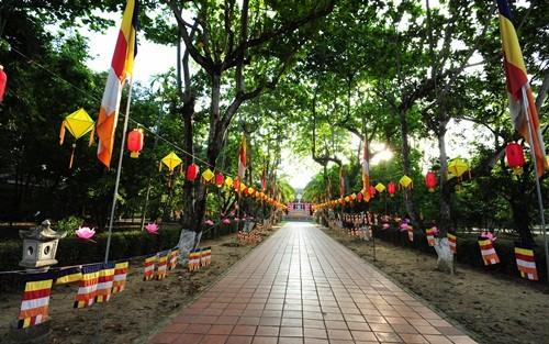 Великий буддийский праздник в Хюэ - ảnh 4